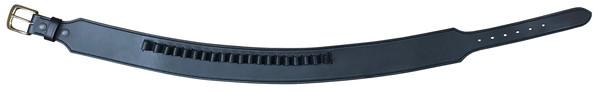 ガンベルト 牛革製 ブラック Lサイズ 070-L