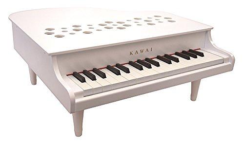 【送料無料】 KAWAI ミニピアノ P-32 ホワイト 1162 日本製 国産