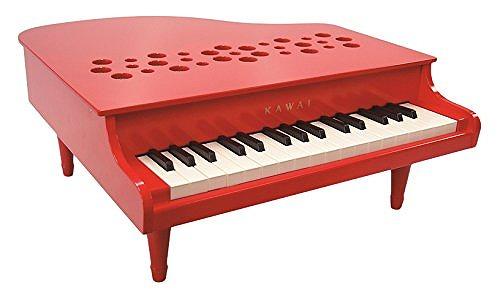 【送料無料】 KAWAI ミニピアノ P-32 レッド 1163 日本製 国産