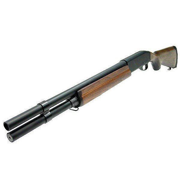 【送料無料】 マルゼン ガスブローバックショットガン レミントン M1100 ウッドストックバージョン