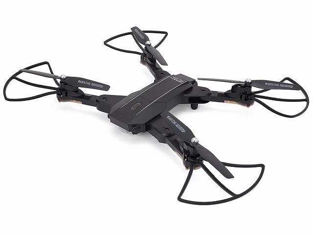 【送料無料】 ドローン カメラ付き GRANFLOW Black 2.4GHz クアッドコプター ブラックGB060