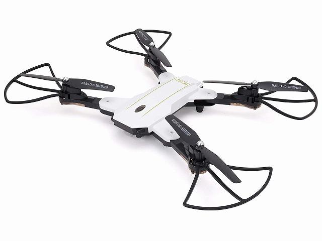 【送料無料】 ドローン カメラ付き GRANFLOW White 2.4GHz クアッドコプター ホワイト GB061