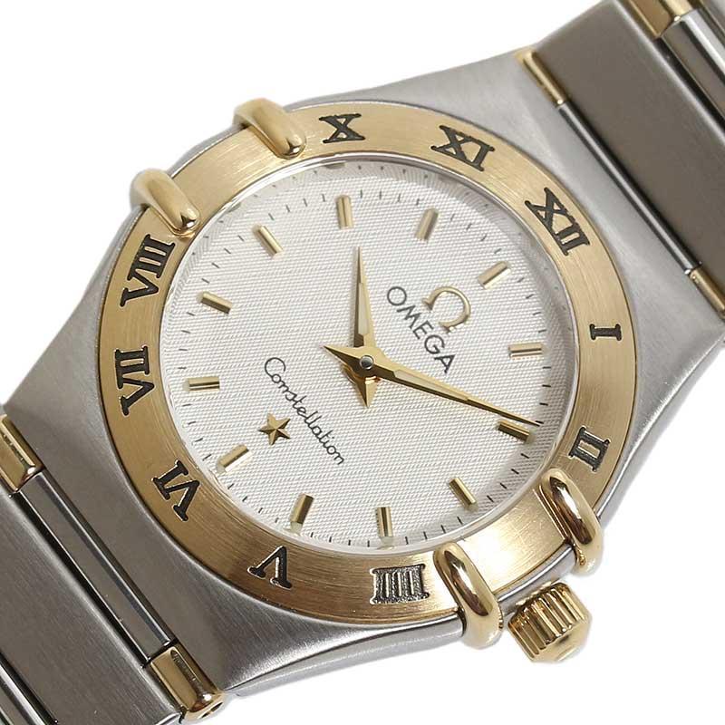オメガ OMEGA コンステレーションミニ 1262.30 クオーツ レディース 腕時計【中古】