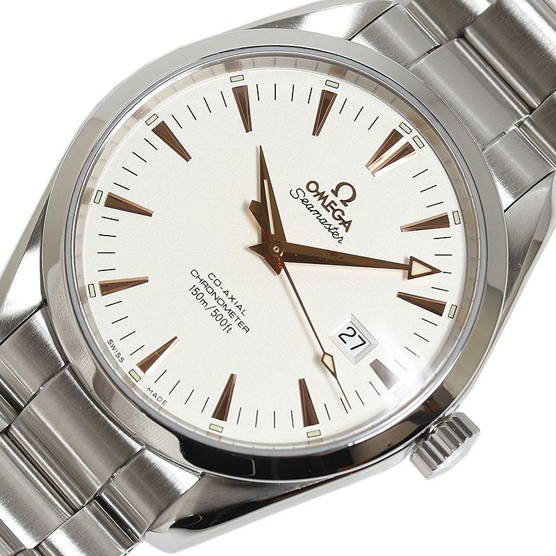 オメガ OMEGA シーマスター アクアテラ 2502.34 自動巻き メンズ 腕時計【中古】