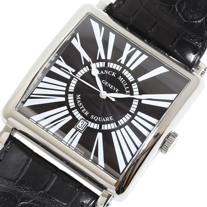 フランクミュラー FRANCK MULLER マスタースクエア 自動巻き メンズ 腕時計【中古】