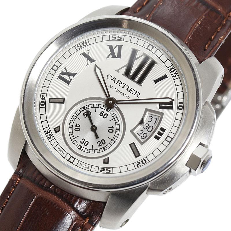 カルティエ Cartier カリブル ドゥ カルティエ W7100037 自動巻き メンズ 腕時計【中古】