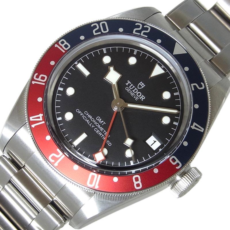 チュードル TUDOR ブラックベイGMT 79830RB 自動巻き メンズ 腕時計【中古】