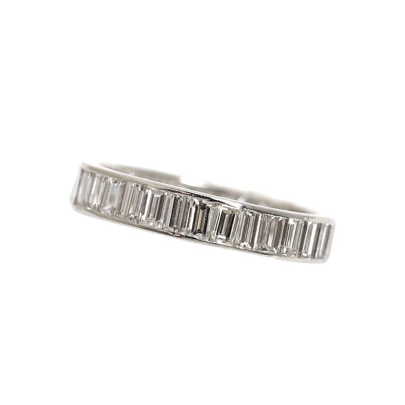 リング・指輪 メンズ 送料無料 ダイヤモンドリング プラチナ D3.21 指輪 約17号 メンズ ジュエリー アクセサリー【中古】