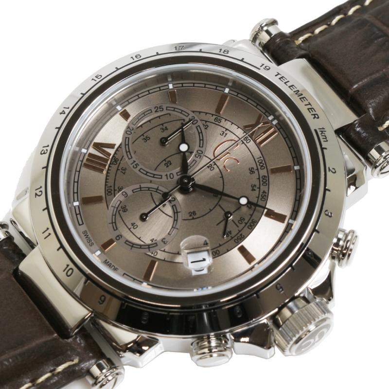 ゲス 腕時計 現金特価 メンズ 送料無料 GUESS GC ジーシー 中古 おすすめ Telemeter クオーツ B1-Class ゲスコレクション X44008G1