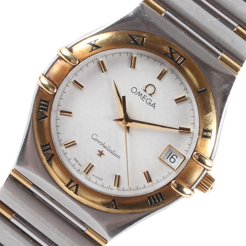 オメガ 腕時計 5%OFF メンズ 送料無料 OMEGA クオーツ 中古 コンステレーション 休日 1312.30