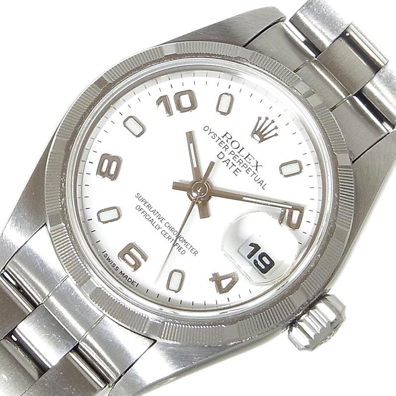 売れ筋ランキング ロレックス 腕時計 レディース 送料無料 ROLEX パーペチュアル セール開催中最短即日発送 中古 自動巻き 69190 ターンドベゼル デイト A番