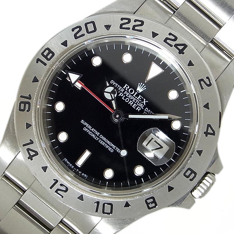 最新作の ロレックス メンズ ROLEX エクスプローラー2 X番 16570 X番 自動巻き 自動巻き メンズ 腕時計【】, 【国内発送】:4591b202 --- cpps.dyndns.info