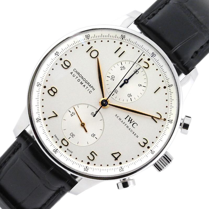 インターナショナルウォッチカンパニー 腕時計 公式 メンズ 送料無料 IWC ポルトギーゼクロノ IW371445 5☆大好評 中古 自動巻き