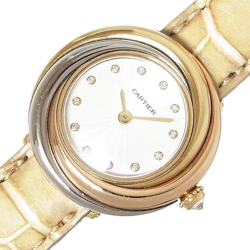 カルティエ 腕時計 マーケット レディース 全国一律送料無料 送料無料 Cartier 中古 クォーツ スリーカラー トリニティ