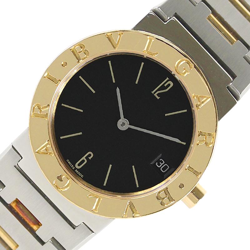 ブルガリ 腕時計 ユニセックス 送料無料 BVLGARI BB30SGD ブルガリブルガリ 正規販売店 中古 ボーイズ マート