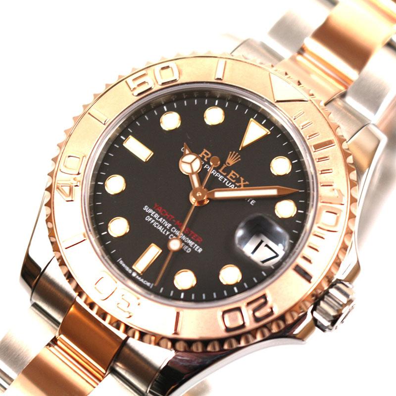 ロレックス 腕時計 メンズ 送料無料 ROLEX ヨットマスター 本物 268621 ランダムシリアル 中古 自動巻き 新作入荷 ユニセックス