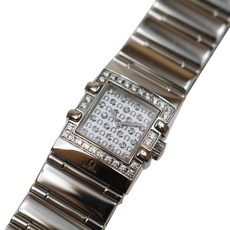 オメガ 腕時計 レディース 送料無料 高級品 OMEGA 1539.77 中古 クオーツ コンステレーション シェル 割引も実施中