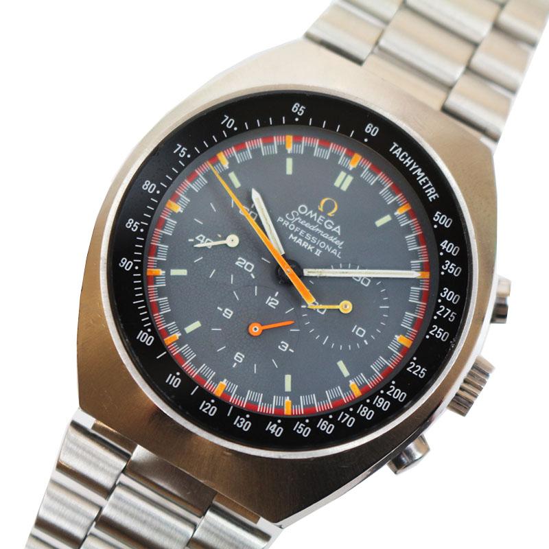 <title>オメガ 腕時計 メンズ 送料無料 OMEGA スピードマスター マーク 送料無料でお届けします ST145.014 グレー 手巻き 他 中古</title>