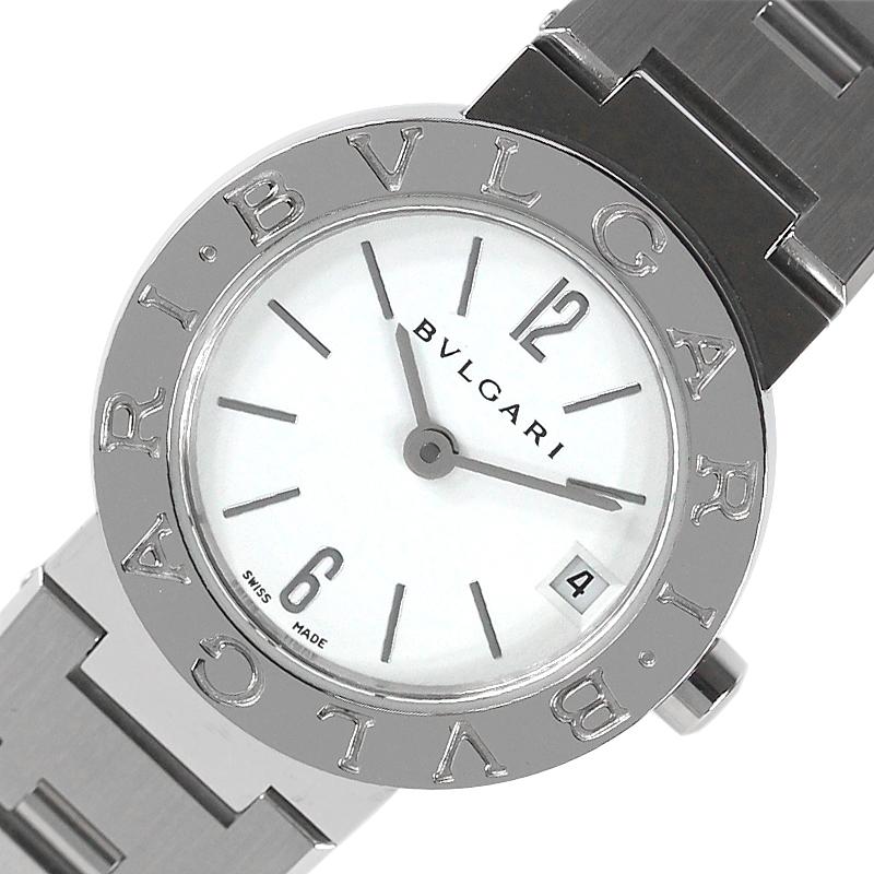 ブルガリ 買物 腕時計 レディース 送料無料 BVLGARI BB23SS 本日の目玉 中古 クオーツ ブルガリブルガリ