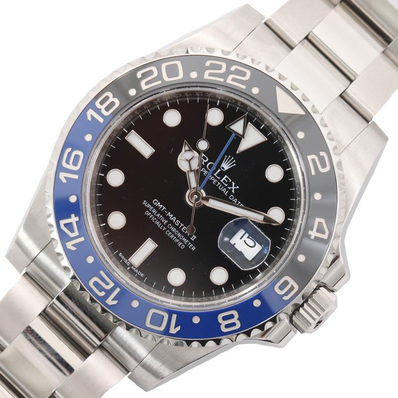魅力的な価格 ロレックス ROLEX GMTマスター2 116710BLNR メンズ ブラック 自動巻き メンズ 腕時計 腕時計【】 116710BLNR【】, 鞍手郡:ac743d85 --- online-cv.site