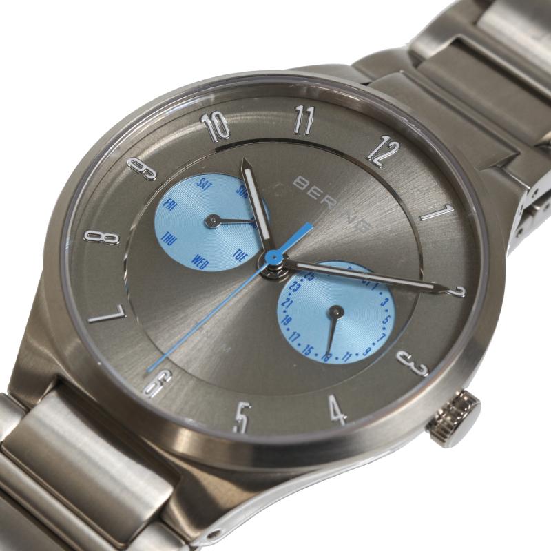 腕時計 他 送料無料 贈物 BERING 新品未使用正規品 NorthernLights2017 350本限定 中古 メンズ 11539-770 クオーツ
