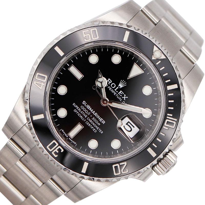 ロレックス 腕時計 メンズ 送料無料 ROLEX サブマリーナデイト 自動巻き 新作からSALEアイテム等お得な商品満載 中古 116610LN 有名な