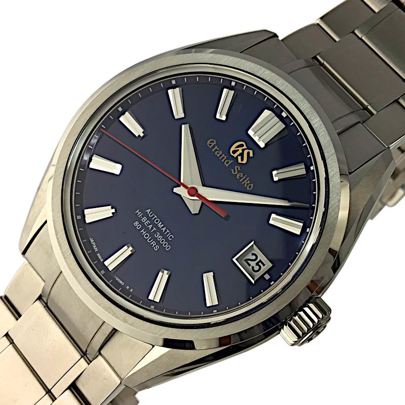 お気に入り セイコー 腕時計 メンズ 送料無料 SEIKO ヘリテージコレクション 中古 1000本限定 ブルー 自動巻き SLGH003 流行 60周年記念モデル
