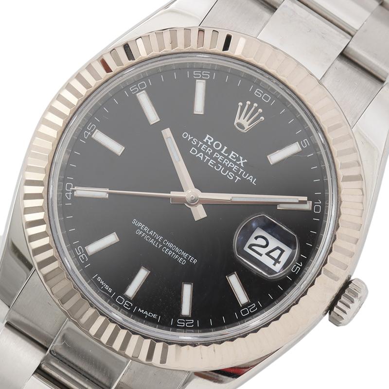 ロレックス 腕時計 メンズ 送料無料 超激安特価 デイトジャスト セールSALE%OFF ROLEX 126334 中古