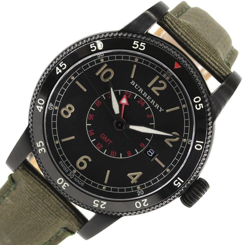 バーバリー 腕時計 メンズ 送料無料 公式通販 BURBERRY 最新 BU7855 クオーツ ユティリタリアン 中古