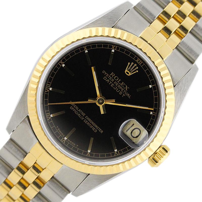 ロレックス 腕時計 ユニセックス 入手困難 送料無料 ROLEX 中古 内祝い 68273 デイトジャスト 自動巻き