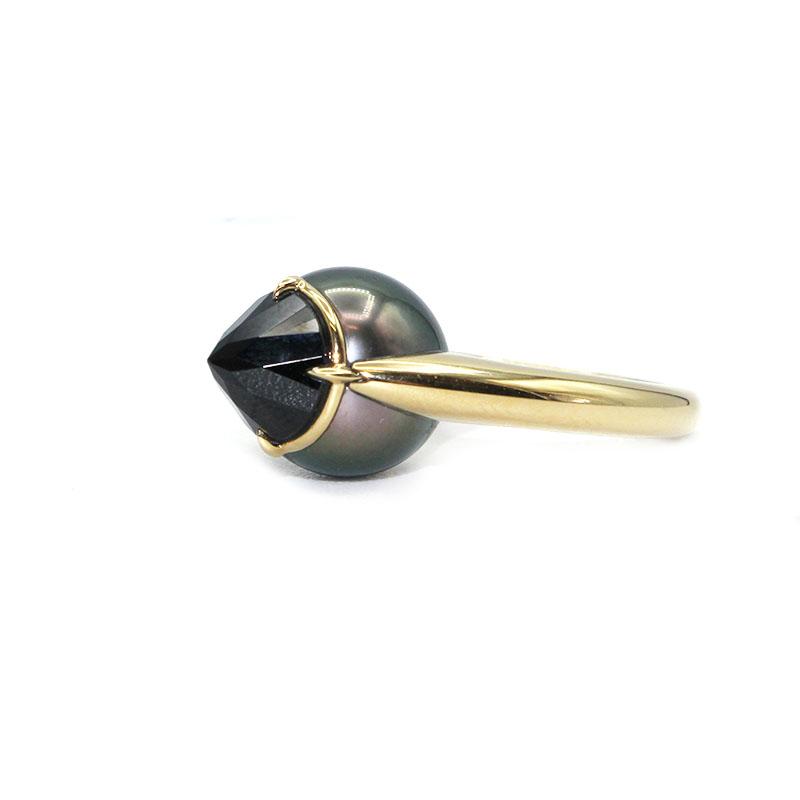 お買い得 タサキ リング 指輪 日本産 レディース 送料無料 ジュエリー 中古 K18YG TASAKI