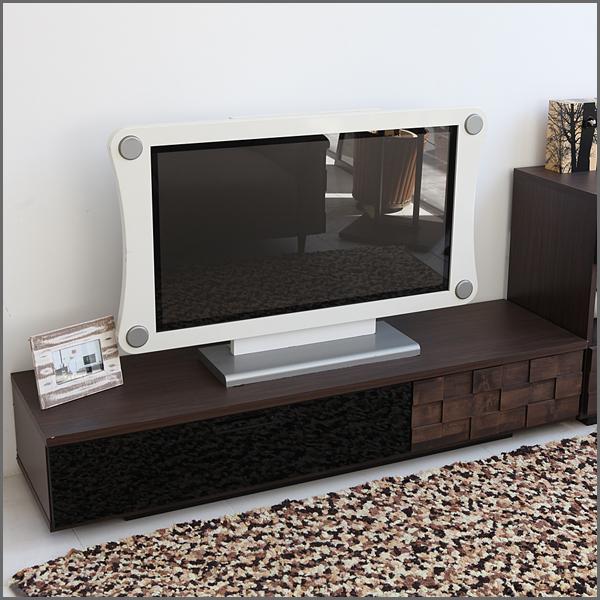 auc orangeinterior tv tv board lowboard nordic completed width 160 wooden drawer glass 160 cm. Black Bedroom Furniture Sets. Home Design Ideas