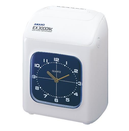 アマノ[EX-3000NC-W]タイムレコーダー ホワイト[オフィス機器][タイムレコーダー][タイムレコーダー]