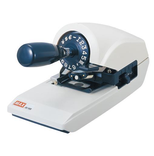 マックス[RC-150S]ロータリーチェックライタ       ★[オフィス機器][レジ・受付窓口関連機器][チェックライター]