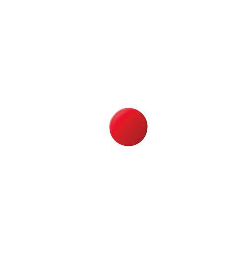 クラウン[CR-MG10-RX20]カラーマグタッチ丸型 10mm 赤[事務用品][掲示用品][マグネット用品]