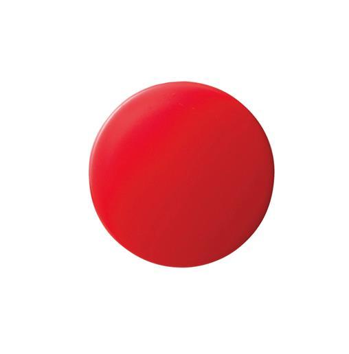 クラウン[CR-MG35-RX5]カラーマグタッチ丸型 35mm 赤[事務用品][掲示用品][マグネット用品]
