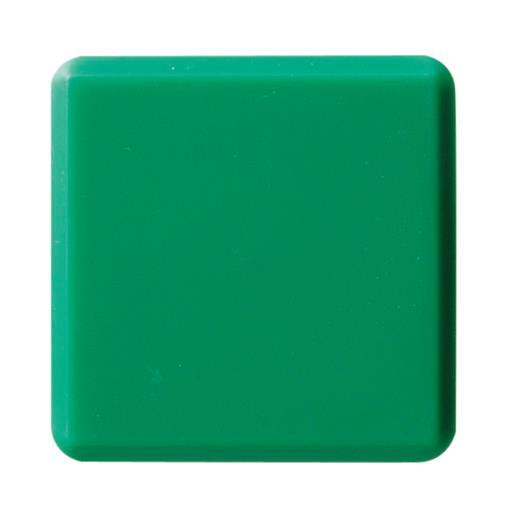 クラウン[CR-MG33-GX10]カラーマグタッチ角形 33mm 緑[事務用品][掲示用品][マグネット用品]