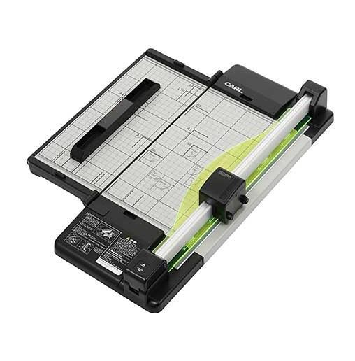 カール事務器[DC-F5100-K]ディスクカッター・スリム A4[事務用品][貼・切用品][ディスクカッター]