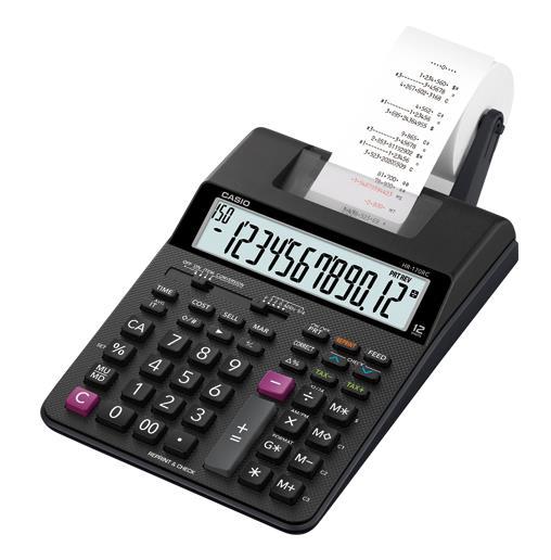 カシオ計算機[HR-170RC-BK]プリンター電卓[オフィス機器][電卓・電子辞書][電卓]