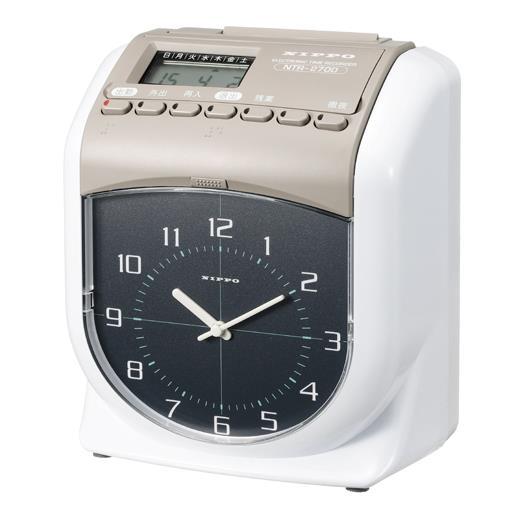 ニッポー[NTR-2700]タイムレコーダー NTRー2700[オフィス機器][タイムレコーダー][タイムレコーダー]