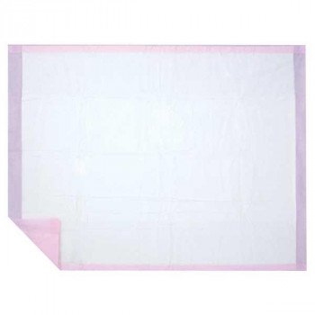 ハクゾウメディカル 吸水マット バースヘルパー ピンク 滅菌 1枚入×20袋 3906020