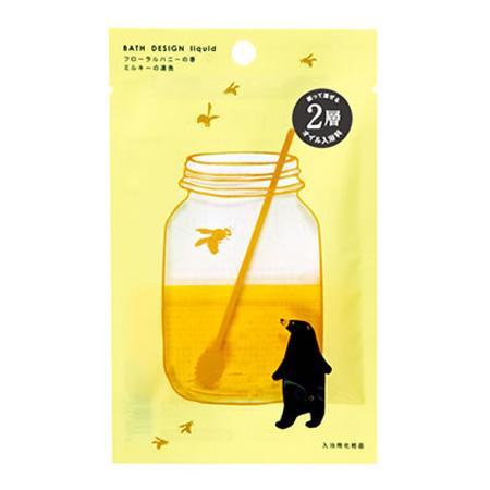 五洲薬品 入浴用化粧品 バスデザイン フローラルハニーの香 (25ml×10袋)×12箱(120袋入り) BD-F