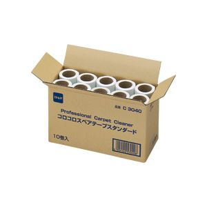 (まとめ)コロコロ スペアテープ スタンダード 幅160mm×90周巻 10巻入×6パック