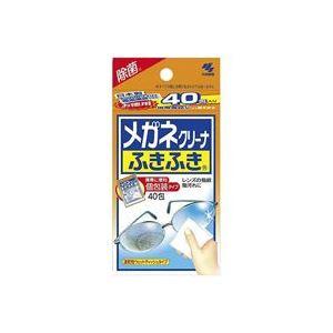 (業務用20セット)小林製薬 メガネクリーナふきふき 40包