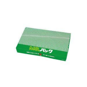明光商会 シュレッダー用ゴミ袋 MSパック 透明 LLサイズ 1パック(100枚)