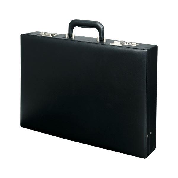 クラウン アタッシュケース ダイヤルロック CR-AT51-B 黒 1個