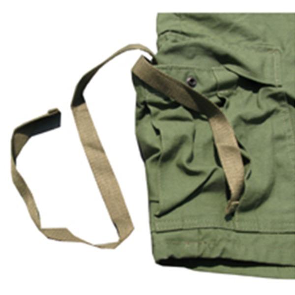 USタイプ「 M-65」フィールドショート丈パンツ オリーブ メンズ XSサイズ
