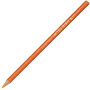 (業務用50セット) 三菱鉛筆 色鉛筆 K880.4 橙 12本入
