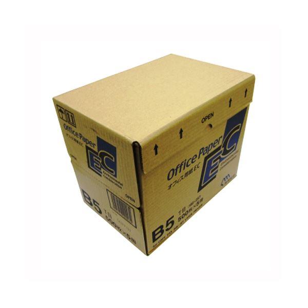 (業務用セット) 日本製紙 オフィス用紙 オフィスEC B5 500枚×5冊入 【×2セット】