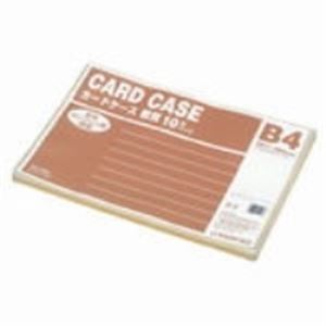 (業務用20セット) ジョインテックス 再生カードケース軟質B4*10枚 D067J-B4
